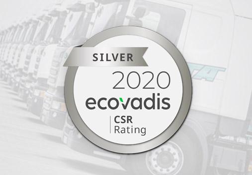 Medalla de plata EcoVadis